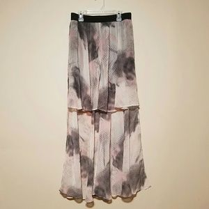 Silence + Noise women's size large hi low skirt